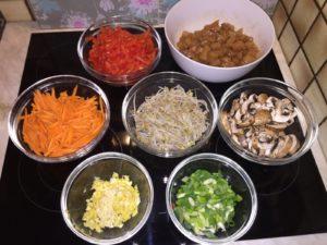 Wok-Gemüse_Zutaten